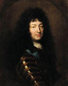 Louis XIV, roi de France, atelier de Mignard