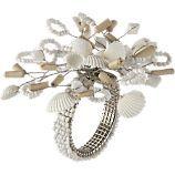 eclectic seashell napkin rings, $4.50- crate & barrel