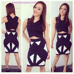 Because crop tops could look classy! Just depends on how you style them! Here is a perfect example of how to correctly wear a crop!