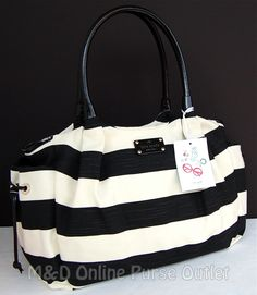 This is a gorge Kate Spade Diaper Bag, but I can see how dirty this would get :/