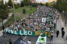 FANS JUVE LEO, SPORTING PORTUGAL