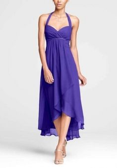 Davids Bridal Regency (purple) Dress