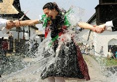 In today's Photo Journal, a wet Easter in Hungary Easter In Poland, Easter Monday, Easter Traditions, Folk Dance, Ancient Mysteries, Photo Journal, Traditional Outfits, Culture, Costumes