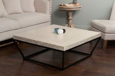 Eglin AFB Trapeze Coffee Table
