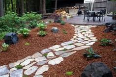 path with mulch