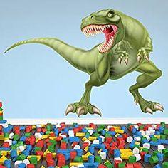 Superb Tyrannosaurus T Rex Wandaufkleber Dinosaurier Dino Wandtattoo Kinderzimmer Deko