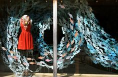 Anthropologie: School of Paper Fish (with a pop of orange) Corte Madera, CA