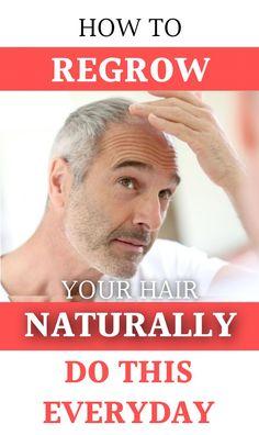 Balding Remedies grow your hair naturally Hair Remedies For Growth, Hair Loss Remedies, Regrow Hair Naturally, Prevent Hair Loss, Hair Regrowth, Hair Care Tips, Hair Tips, Hair Health, Healthy Hair