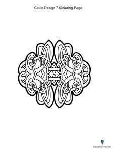 Kidscanhavefun Coloring Pages Celtic7coloringpage