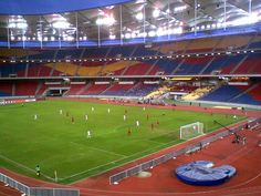 Bjalilinterior - 1998 Commonwealth Games - Wikipedia, the free encyclopedia. National Stadium Bukit Jalil Original uploader was at en.wikipedia - Transferred from en. National Stadium, Sports Stadium, Commonwealth Games, Football Stadiums, Kuala Lumpur, Baseball Field, Athlete, Soccer, World