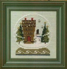 Bent Creek - Home in the Globe - Complete Kit [BCHomeGlobe] - $24.00 : Laurel's Stitchery, The best little stitchery shop on the internet!