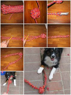 how to make Rope Dog toy step by step DIY tutorial instructions, How to, how to make, step by step, picture tutorials, diy instructions, craft, do it yourself