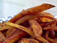 Oven Roasted Cinnamon Sweet Potato Fries