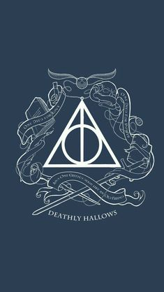This Is Such A Coolly Hallows Design Harry Potter Fandom Harry Potter Decor