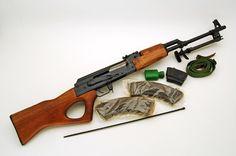 GunAuction.com - NORINCO AK-47 RPK MODEL NHM91 CALIBER 7.62X39 AK-47-SEMI AUTO RIFLE- - Item:12421435