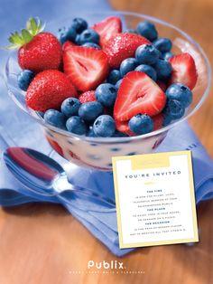 Publix Supermarket Print Ad for produce