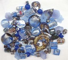 Check out our mixed bead bags on Ebay :-)  http://www.ebay.ca/itm/Mixed-Beads-78-Pcs-Blue-Murano-Style-Glass-Dolphin-Pendant-Square-Lentil-Shell-/302471602435  #beads #beadmix #mixedbeads #jewelrymaking #handmadejewelry #beadjewelry