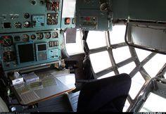 "Volga-Dnepr Cargo Airlines Ilyushin IL-76TD-90VD ""Glass Nose"" navigator's area"