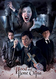 From February 2012, BLOOD AND BONE CHINA, directed by Chris Stone. #FebruaryInBritishHorror