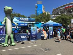 #SDCC #ComicCon #PetcoPark #Geico #karaoke bus whut? yep.   Find out more about Event Marketing at spevco.com