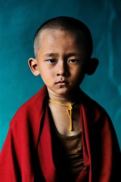 Young Rinpoche, Bylakuppe, Karnataka © Steve McCurry