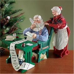 Everybody's Been Good This Year Possible Dreams Santa Department 56 http://www.amazon.com/dp/B001B4TYOM/ref=cm_sw_r_pi_dp_.C4uub1E88DHS