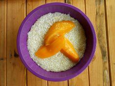 Coconut Tapioca Pudding with Mango