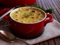 Soupe d'Oignon gratinée