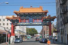 Chinatown Gate S King St & 5th Ave S Seattle, WA 98104 Gate, Seattle, Washington, King, Portal, Washington State