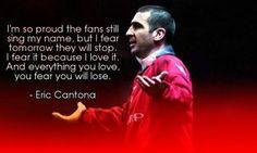 Eric Cantona ♥ Eric Cantona, Manchester United Players, Sir Alex Ferguson, Premier League Champions, Football Quotes, European Cup, Simply Red, Europa League, Man United