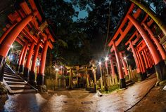 Fushimi Inari Shrine is a perfect experience at night!