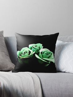 'Rippled Roses' Throw Pillow by Moonshine Paradise  #redbubble #roses #photography #art #homedecor