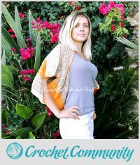 EDITOR'S CHOICE (10/01/2015) Crochet Shrug Sweater Pattern by janegreen View details here: http://crochet.community/creations/3740-crochet-shrug-sweater-pattern