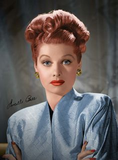 Lucille Ball~Wow, I love this picture of her. She was truely a beautiful lady.