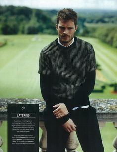 """Jamie Dornan in """"Country Casuals"""" by Jesse Jenkins Esquire UK November 2012"""