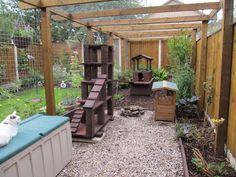 Outdoor cat enclosure More