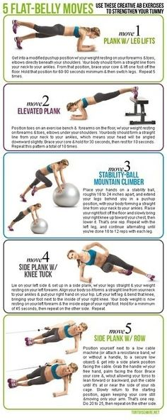 Best Ab Exercises - Our Top 10 Abs Exercises - Ab Workouts