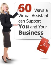 60 Ways a Virtual Assistant Can Support You & Your Business