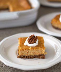 Heat Oven to 350: Carrot Cheesecake Bars