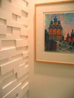 DIY  3-d wallpaper