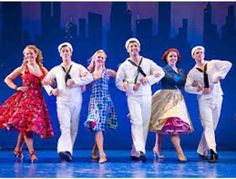 """Nominated for 4 TONY awards including BEST MUSICAL REVIVAL, BEST LEADING ACTOR, BEST CHOREOGRAPHY, and BEST DIRECTION. Come see why ON THE TOWN is on more TOP 10 lists than any other musical this year. It's an """"explosion of pure joy"""" (The Hollywood Reporter) with """"the best dancing on Broadway"""" (Ben Brantley of The New York Times on NPR). Featuring eye popping sets and gorgeous costumes. ON THE TOWN has """"a rapturous and red blooded score"""" (Daily News) by Leonard Bernstein, one of America's…"""