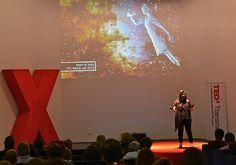TEDxTransmedia ROME 2012 - Ana Serrano - Speaker - Shot by @LisaLemee