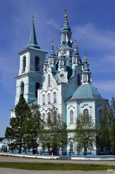 Church of the Holy Transfiguration, Sverdlov city, Russia