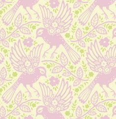 Sew Scrumptious Fabrics - Heather Bailey - Up Parasol - Meadowlark (Pink), £3.00 (http://www.sewscrumptious.co.uk/heather-bailey-up-parasol-meadowlark-pink/)
