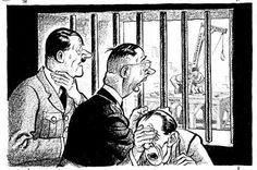 The Yalta conference was to decide what would happen in post-war period. World War Two In Cartoons By ILLINGWORTH