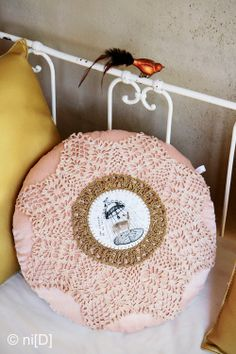 Crochet Cushion and Pillow Design Inspiration from niD Design Object Shop