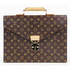 Louis Vuitton Monogram Two-Compartment Briefcase