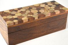 Sheesham Pencil Box | Handcrafted wooden box, Fair trade, wooden ...