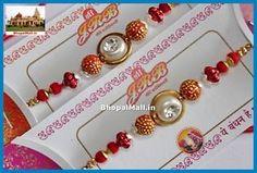 1No-Beautiful-Stone-Beads-Rakhi-Raksha-Bandhan-RoliChawal-Tika-BM0003