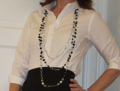 Flattering50: Holiday Necklace